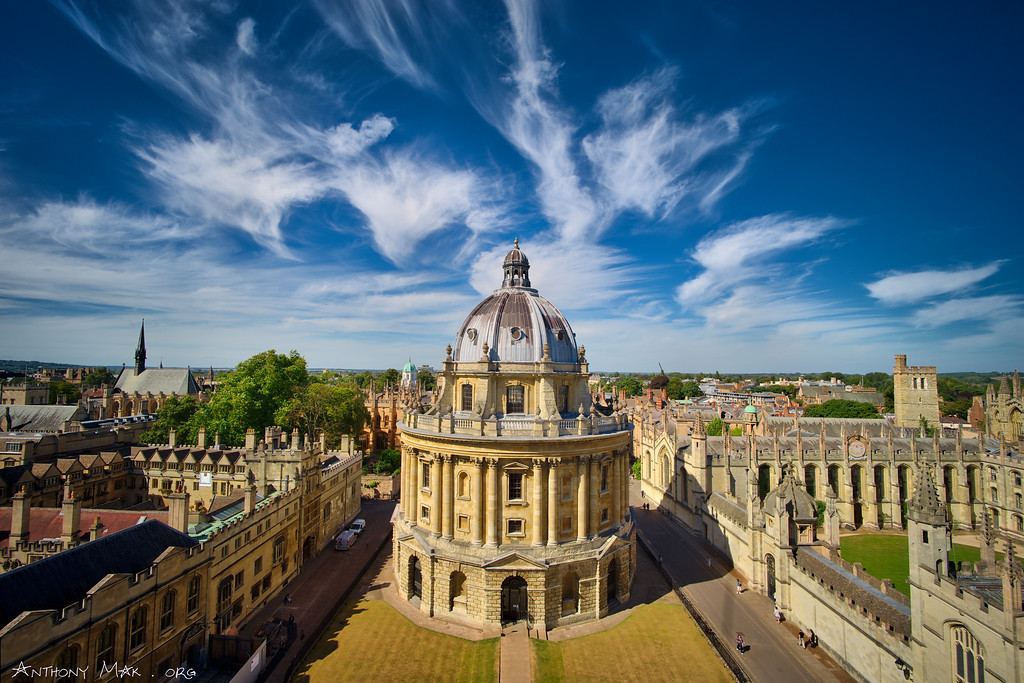 """Radcliffe Camera Panorama"""