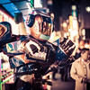"<h2>Robots in the Streets of Tokyo!</h2> <br/>Someone gave me a hot tip to go see this cool robot area of Tokyo! There's a place called the Robot Restaurant, and it's one of the craziest places I have ever been!<br/><br/>It's basically like Medieval Times, but with robots and girls in bikinis.<br/><br/>Outside the Robot Restaurant, they have all these awesome-looking robots with iPads on their chests. There are people inside, which is kind of a disappointment, but also kind of a relief. Either way, they are pretty awesome!<br/><br/>- Trey Ratcliff<br/><br/><a href=""http://www.stuckincustoms.com/2013/05/13/robots-in-the-streets-of-tokyo/"" rel=""nofollow"">Click here to read the rest of this post at the Stuck in Customs blog.</a>"