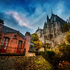 """<h2>Exploring the Old Village</h2> <br/>If you ever get to Mont Saint Michel, give the whole place a full circle on the curtain wall. It's easy to get up on the wall (and quite safe to walk on… even though walking on a wall sounds dangerous). There are stairs to get up there and everything. Anyway, the wall circumnavigates about a third of the old village and monastery. There are countless good angles. It's also worth walking this route at least three times – Sunrise (or sunset), mid day, and night! <br/><br/>- Trey Ratcliff<br/><br/><a href=""""http://www.stuckincustoms.com/2013/05/11/exploring-the-old-village-and-new-behind-the-scenes-video/"""" rel=""""nofollow"""">Click here to read the rest of this post at the Stuck in Customs blog.</a>"""