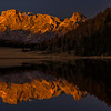 Last light at Lago di Calaita