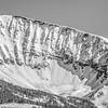 North Summit Snowfield on Lone Pk, Madison Range, MT