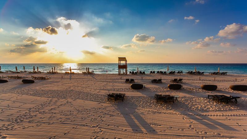 Break of Day in Cancun