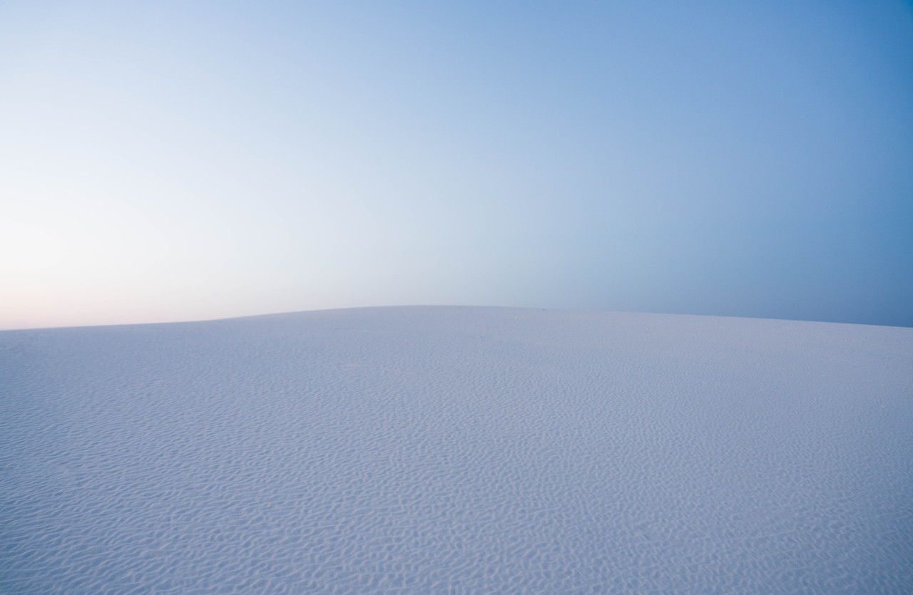 More Snow From White Sands?