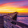 Sunset at Pacific Beach Pier
