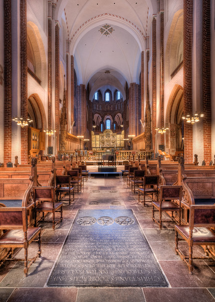 Interior of Roskilde Cathedral