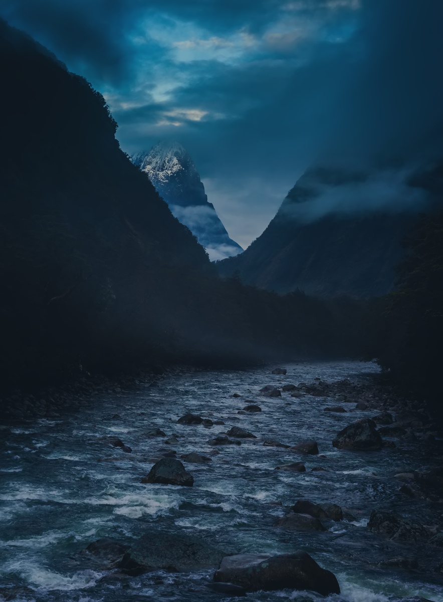 Navigating Across the Rivers of New Zealand in the Morning Mists I woke up in the morning before everyone else to go on an extended scouting mission. I arrived around this river just as the morning mists were lifting enough to give me a view into the distance.- Trey RatcliffClick here to read the rest of this post at the Stuck in Customs blog.