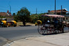 Transportation Awaits Tourists in Varadero