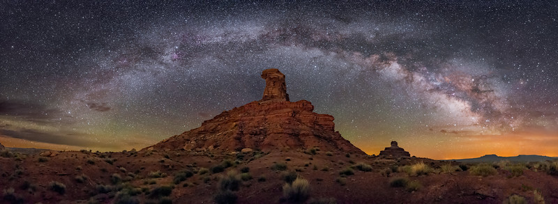 Rooster Butte Panorama