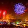 """<h2>Sometimes, I'd rather be in Disney World</h2> <br/>Actually, maybe I should change that title to: """"I think I'd like to always be in Disney World!"""" <br/><br/>They shoot off fireworks every night in the Magic Kingdom, and I feel bad if I miss it.  I'm sure that's a strange thing to feel bad about...  To get everything in, I have to plan the days and nights like a neo-Clark Griswald to ensure the perfect storm of technology meets up with whatever spectacular events are happening that day.  For this shot, I had got reservations three months in advance at the California Grill restaurant, which has a nice majestic view of the show, as the restaurant empties out onto the roof of the Contemporary Resort.  <br/><br/>There is not much of a viewing area up there, and there were a bunch of people around me while I tried to get my tripod in place.  I could deal with the crowds and fleshy shouldering, but the one thing that always annoys me is people beside me with little cameras that use their flashes to take photos of something a mile away.  Sometimes they see I have a big camera, and they turn to ask for advice.  They ask, """"Do you think my flash helps?""""  I am really a totally nice and approachable guy, but since this is one of the very few things that annoy me, I usually just give them a shameful negative nod of the head.<br/><br/>This doesn't have anything to do with the shot, but I had some great sushi in that restaurant.  It was made by a Japanese female sushi chef, and she is one of only three """"official"""" sushi chefs in the world (or so the matri'd told me).  The Japanese do not let women be sushi chefs normally, as their hands are too """"weak"""".<br/><br/>- Trey Ratcliff<br/><br/><a href=""""http://www.stuckincustoms.com/2009/04/21/sometimes-id-rather-be-in-disney-world/"""" rel=""""nofollow"""">Click here to read the rest of this post at the Stuck in Customs blog.</a>"""