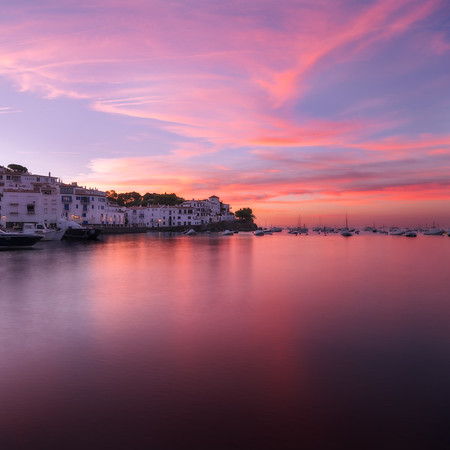 Cadaques at Sunrise