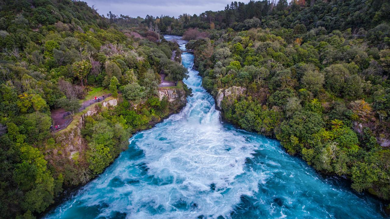 Massive Huka Falls