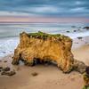 El Matador Beach Rocks at Sunset (California)