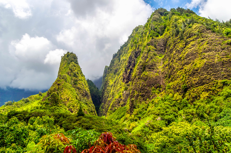 'lao Needle State Park in Maui
