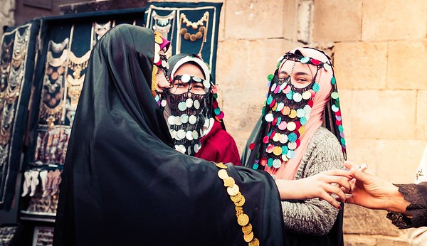 Exploring The Bazaar District In Cairo