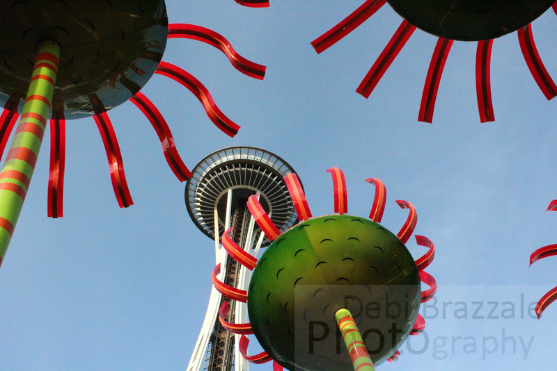 Chihuly Meets the Space Needle