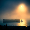 Percé Rock Sunrise