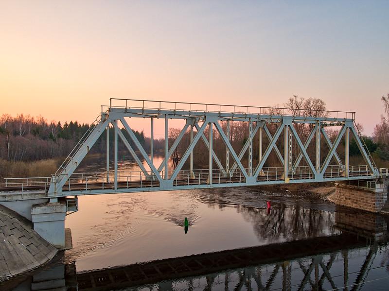 Jänese raudteesild /  railway bridge Jänese