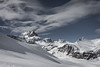Wooly clouds in the Swiss Alps