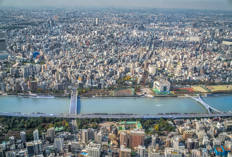 High Above Tokyo