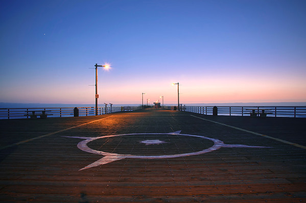 'Evening On The Pier' ~ Pismo Beach, CA