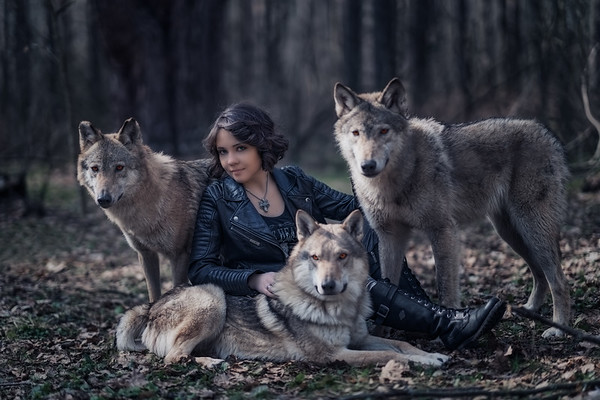 Queen of the wolves
