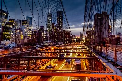 A Stroll Down the Brooklyn Bridge