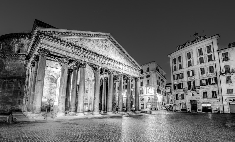 Pantheon In It's Greatness