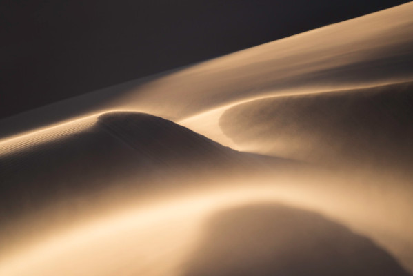 Sand Dune during Sunset