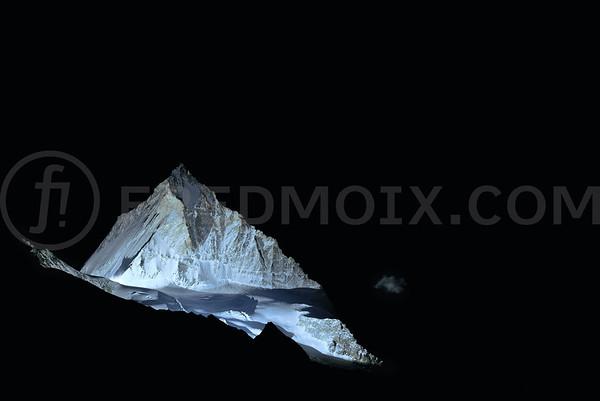 Dent-Blanche, 4'357 meters, Switzerland