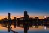 Boston Sunrise Skyline