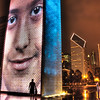 "<h2>The Neo Monoliths of Chicago</h2> <br/>After my meeting I headed downtown to see the new Millennium Park that recently opened.  It was incredibly surreal and awesome.  Here is a nice shot I grabbed... these are video walls that cycle in and out different pictures.<br/><br/>- Trey Ratcliff<br/><br/><a href=""http://www.stuckincustoms.com/2007/06/14/a-silent-bridge-to-the-city/"" rel=""nofollow"">Click here to read the rest of this post at the Stuck in Customs blog.</a>"