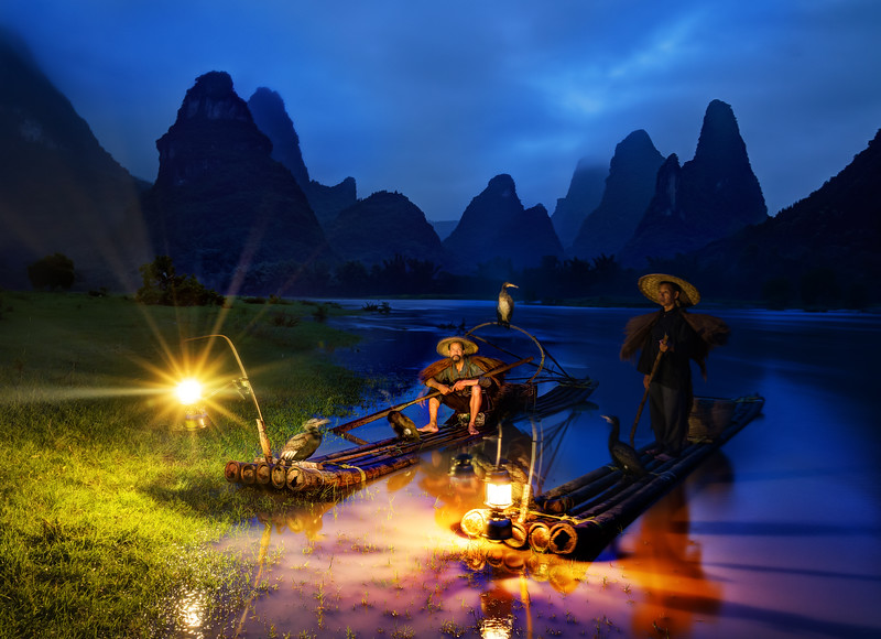 Fishing In Guilin