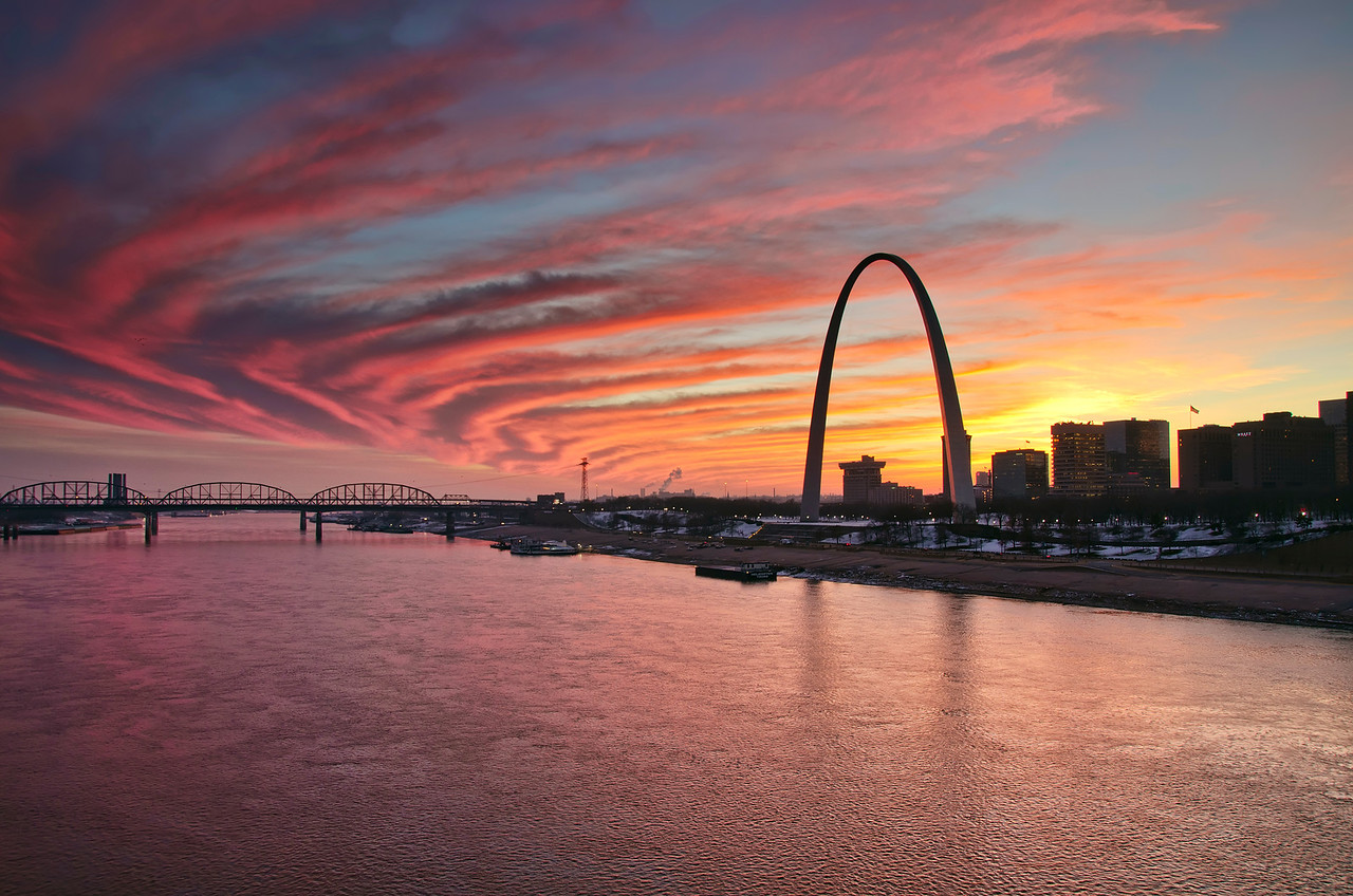 'STL Skies' ~ St. Louis, MO