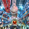 "<h2>The Mighty Rocket Rests</h2> I had some time during the day while at NASA to visit the Kennedy Space Center.  Inside was the insanely huge Saturn V rocket.  It's one of those things that would hurt like hell if you dropped it on your toe.  The shuttle only has one more launch before it is forever mothballed, like this...  The final launch of the Atlantis is on July 8, the first day of my 40th revolution around the sun.  That's kinda cool I think...  - Trey Ratcliff  Read more <a href=""http://www.stuckincustoms.com/2011/06/02/saturn-5-ks/"">here</a> at the Stuck in Customs blog."
