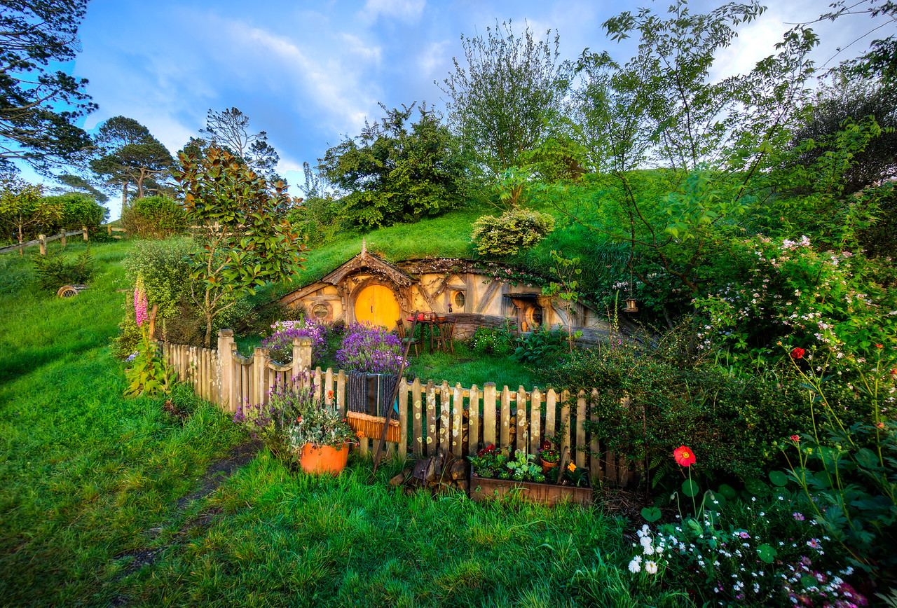 Exploring the Hobbit Holes
