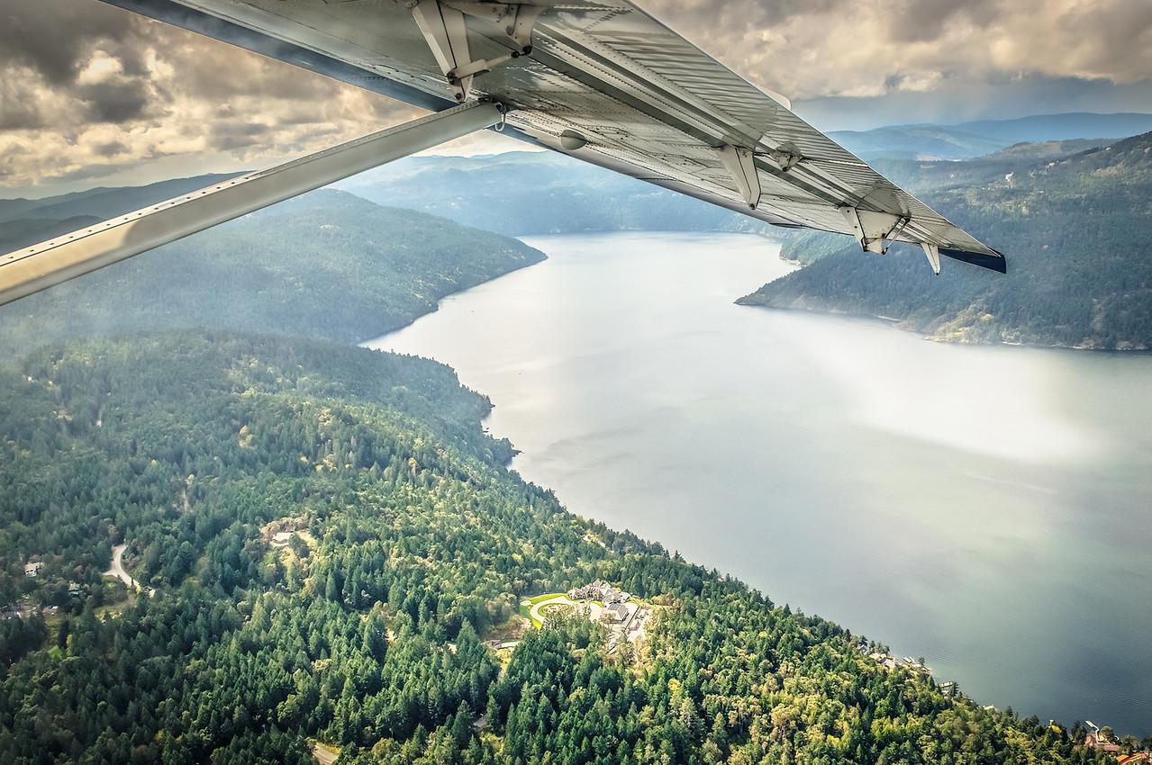Vancouver Island Flight