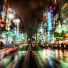 "<h2>Ripping Through the City Streets of Tokyo</h2> <br/>This photo was taken on my final night in Tokyo.  It was rainy, cool, and perfect for street photography.  It's hard to explain HOW clean my sensor was in this photo.  I had the privilege of taking it to the Nikon Headquarters in Tokyo and having the sensor cleaned by a real Japanese guy.  It was a religious experience -- and it only cost $10!  What a deal!<br/><br/>- Trey Ratcliff<br/><br/><a href=""http://www.stuckincustoms.com/2009/10/12/ripping-through-the-streets-of-tokyo/"" rel=""nofollow"">Click here to read the rest of this post at the Stuck in Customs blog.</a>"