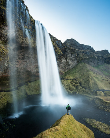 Seljalandsfoss Freedom