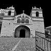 Church - Chivay Peru - Black & White