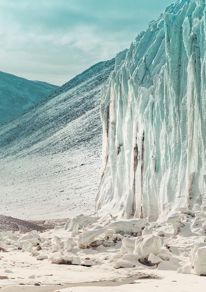 Walking Around the Glacier