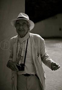 Legendary photographer René Burri © fred! fredmoix.com