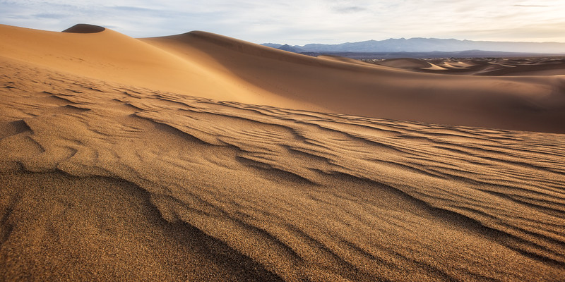 Windswept Dunes in Death Valley National Park