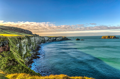 causeway coast at carrick-a-rede