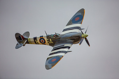 WWII British Spitfire Fighter Plane