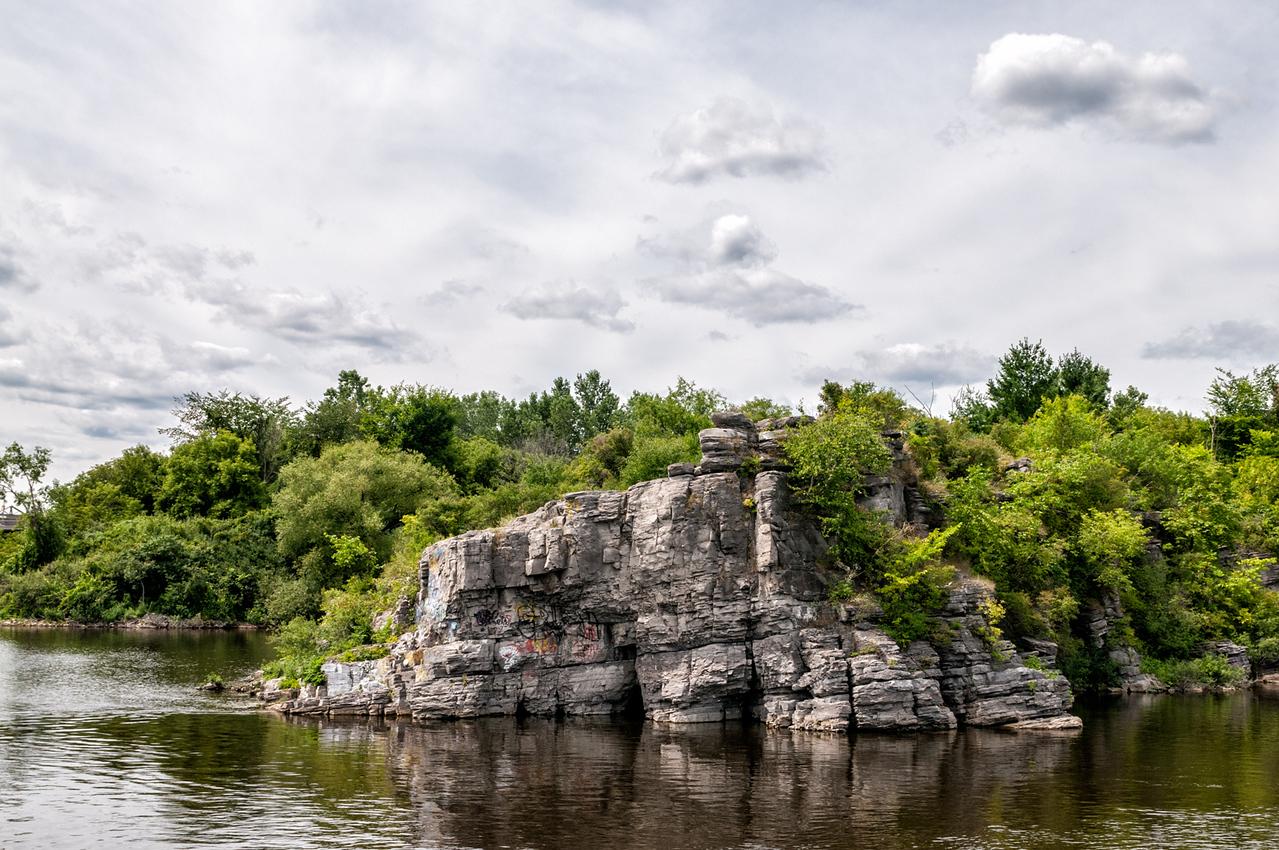 Rocks edge
