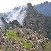 First glimpse of Machu Picchu