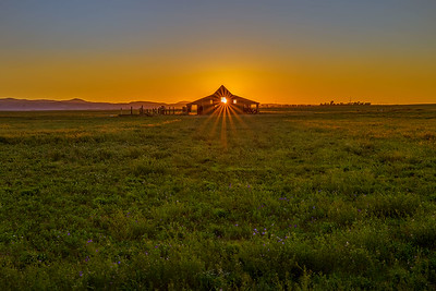 A South Dakotan Sunset.