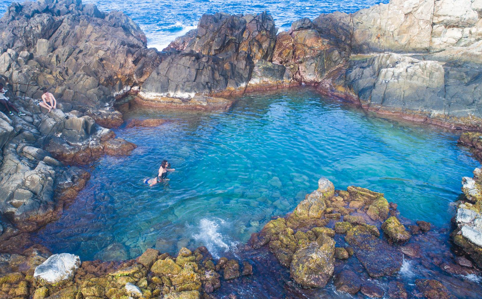 The Swimmin' Hole in Aruba