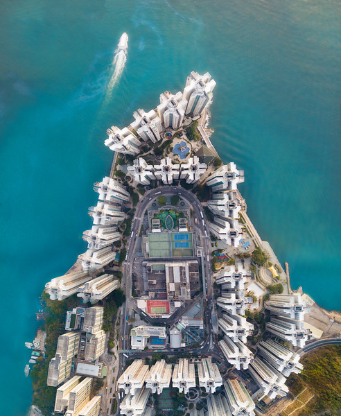 A Beautiful Housing Peninsula In Hong Kong