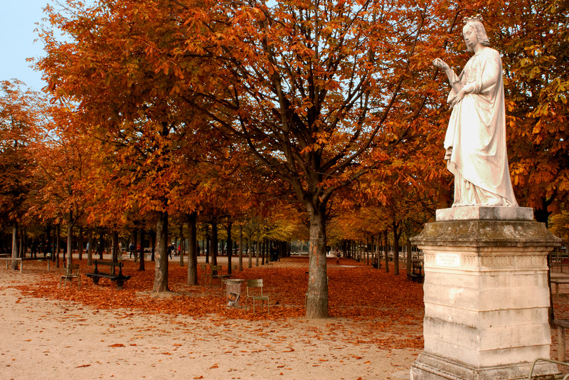 Luxembourge Gardens, Paris
